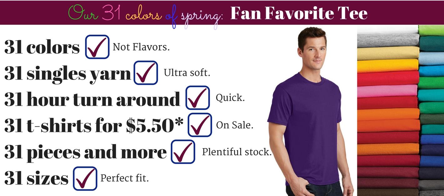 Spring sale favorite t-shirt